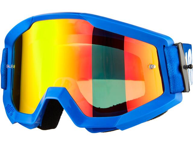 100% Strata Goggles, blauw